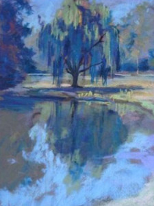 """""""Willow Lake"""" by Katie Burke"""
