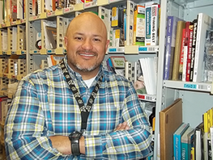 Carlos De La Garza is the general manager  of SDF1, the Amazon fulfillment center in Campbellsville. He started as an area manager there following military service 15 years ago.