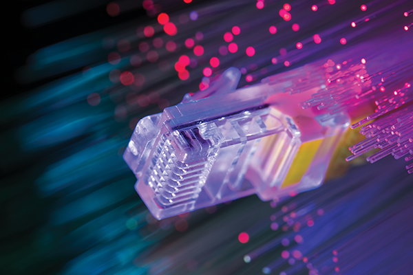 The fiber network will operate at gigabit speeds, or 1,000 megabits per second – 40 times faster than current broadband.