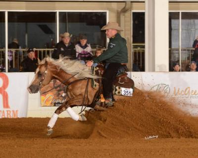 Shawn Flarida, National Reining Horse Association's leading rider, will speak at the University of Kentucky Ag Equine Programs' next Distinguished Industry Lecture Series at 6 p.m. EDT Monday, April 27. Photo courtesy of Waltenberry.