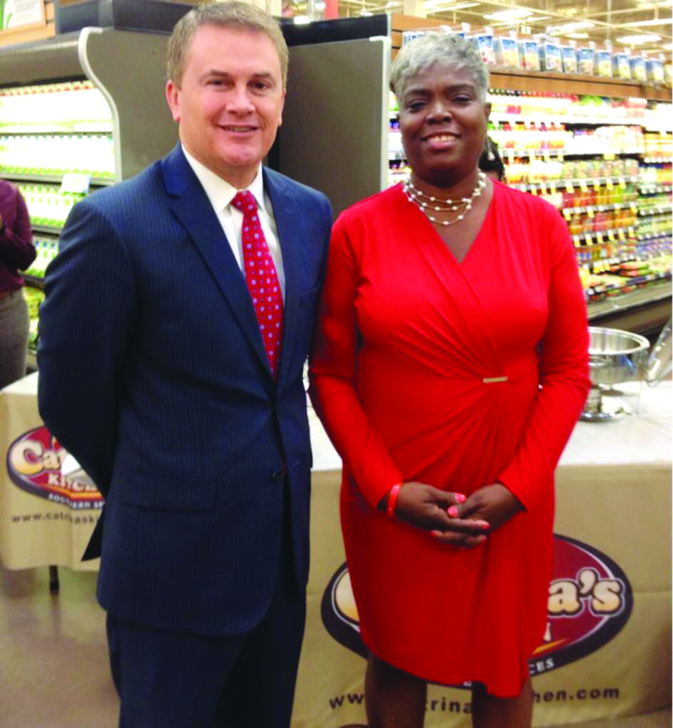 Commissioner Comer and Catrina Hill