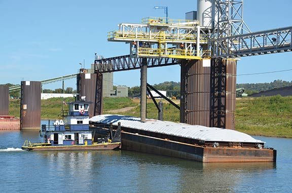 C&B Marine LLC of Covington is a full-service marine company serving utility companies and others in the aggregate movement business across the Midwest and southern United States.