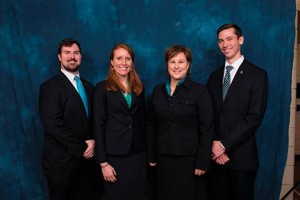 Inscope Medical Solutions team members (pictured left to right) Will Coburn, Maggie Galloway, Mary Nan Mallory and Adam Casson.