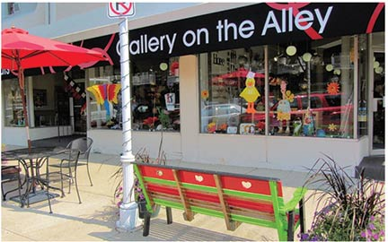 Gallery on the Alley, a retailer located in  St. Joseph, Mich., is one of the newest businesses  to be designated as a Kentucky Crafted retailer.