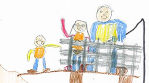 """""""The Fishing Family"""" by Evan Stemler, New Albany, In."""