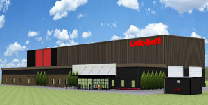 A rendering of the new Link-Belt training facility.