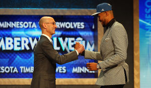 UK center Karl Towns was the No. 1 pick in the 2015 NBA draft.