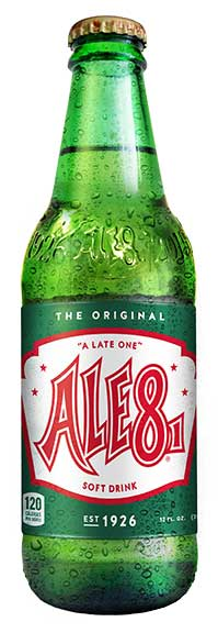 Ale-8-One bottles' new look.