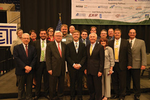 This group of participants at the initial Shaping Our Appalachian Region summit in December 2013 pledged their personal and organizational support for the SOAR effort to take collective regional action to improve the Eastern Kentucky economy. The number of persons actively involved has now grown to more than 1,700.