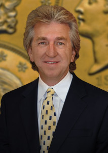 "Jeff Garrett is considered one of the nation's top experts in U.S. coinage. In addition to owning and operating Mid-American Rare Coin Galleries in Lexington, Garrett is a major shareholder in Sarasota Rare Coin Galleries in Florida, and his combined annual sales in rare coins and precious metals total more than $10 million. Garrett has authored many of today's most popular numismatic books, including ""Encyclopedia of U.S. Gold Coins 1795–1933: Circulating, Proof, Commemorative, and Pattern Issues"" and ""United States Coinage: A Study By Type."" He is also the price editor for ""The Official Redbook: A Guide Book of United States Coins."" Garrett is currently vice president of the American Numismatic Association, serves as a consultant to Numismatic Guaranty Corp., the world's largest coin grading company, and plays an important role at the Smithsonian Institution's National Numismatic Department, serving as consultant to the museum on funding, exhibits, conservation and research."