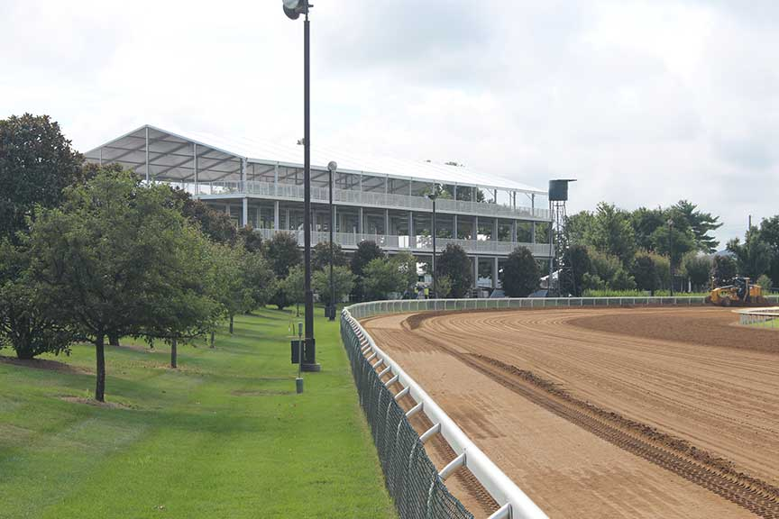 Keeneland Transformation Nearing Completion