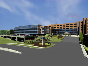 Renderings of the expanded Norton Audubon Hospital