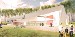 The 40,000 square foot library will be similar to the recently opened Southwest Regional Library.