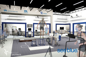 Interior rendering of the new UK Sports Science Research Institute