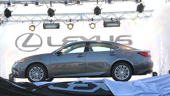The First Lexus Produced In The Country Was Manufactured In Georgetown, Ky.  The Vehicle