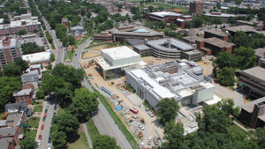 A three-year $50 million renovation and 62,500-s.f. expansion of the Speed Art Museum is one of hundreds of projects making 2015 the biggest year ever for Kentucky builders, engineers and designers. Builders Exchange of Kentucky, a 1,000-member trade organization, now expects more than 3,100 active projects for the year.
