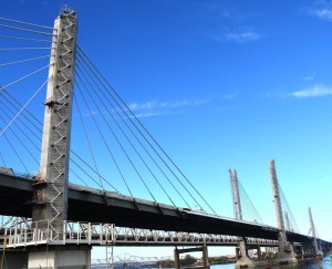 The new downtown Louisville bridge has been named the Abraham Lincoln Bridge.