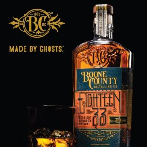 Eighteen 33 Straight Bourbon Whiskey honors Mr. William Snyder's founding of the original distillery in 1833.