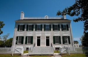 The Centre Family Dwelling at Shaker Village is one structure that will benefit from the $5.1 million grant.