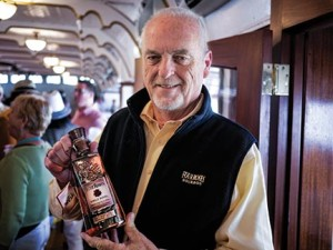 Four Roses bourbon soon became one of the top brands in the United States after Jim Rutledge returned to Kentucky in 1992 to relaunch a product that had been sold only in Europe and Japan for 50 years.