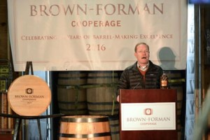 Brown-Forman Master Distiller Chris Morris talks about the rich history and importance of the Brown-Forman Cooperage.