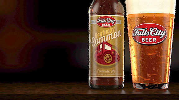 The new Kentucky Common from Falls City is a rich, easy-drinking ale with an ABV (alcohol by volume) of 4 percent.