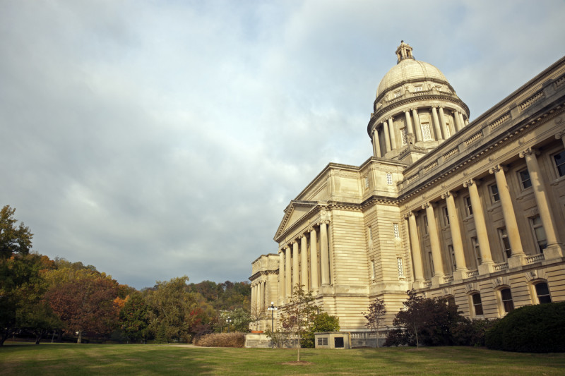 Frankfort, Kentucky - State Capitol Building