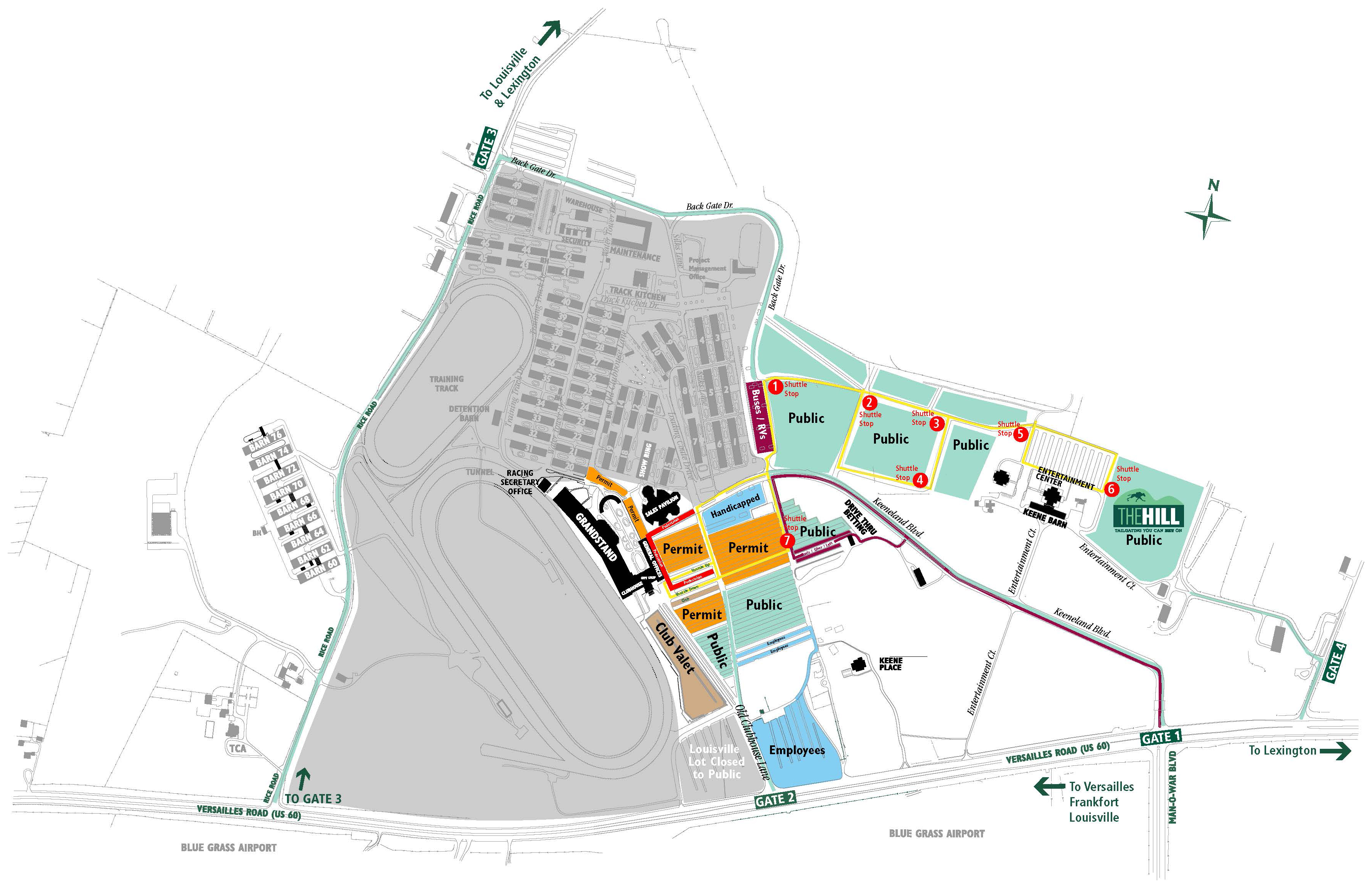Be Prepared For Parking Changes At Keeneland Spring Meet