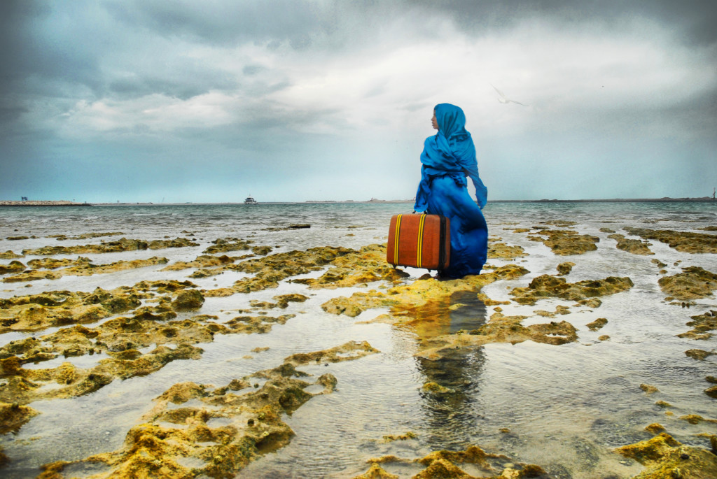 """The UAE and the U.S. share close bilateral ties, and the """"Past Forward"""" touring exhibition and auxiliary programming is a reflection of the two countries' friendship. """"The Last Look"""" by Lateefa bint Maktoum is among the work that will be on display."""