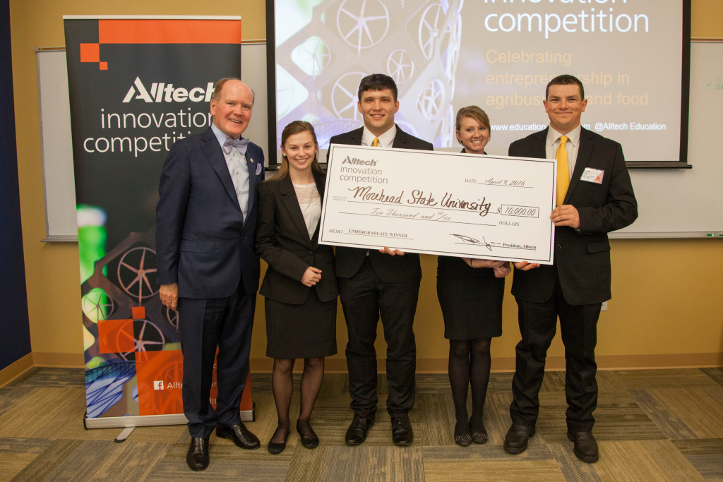 2016 Alltech Innovation Competition - Undergraduate Winners
