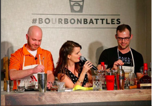 Competition is underway at Lexington's Griffin Gate Marriott. Photo courtesy Marriott Hotels, on instagram @marriotthotels. #BourbonBattles for more!