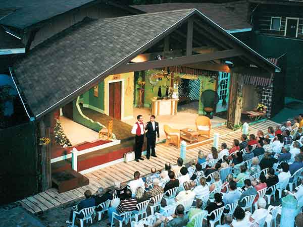 """Founded in 1950 by Col. Eben C. Henson, Danville's Pioneer Playhouse is the oldest outdoor theatre in Kentucky and has been called the """"Granddaddy"""" of Kentucky Outdoor Dramas."""