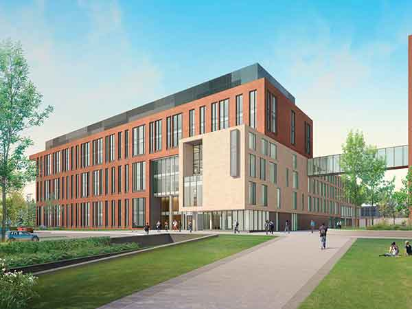 A $265 million, 306,000-s.f. collaborative campus center set for summer 2018 completion will house scientific research specifically targeting Kentucky health disparities in cancer, diabetes, obesity and cardiovascular diseases.