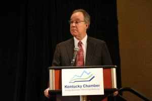 Kentucky Chamber President and CEO Dave Adkisson addressed the P3 Conference.