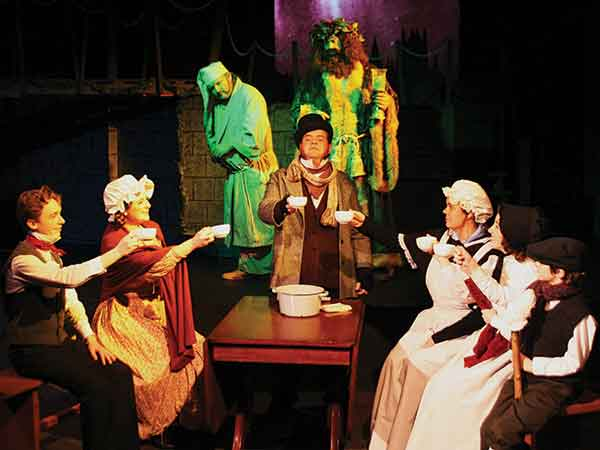 """The actors of Hardin County Playhouse, who last year presented the classic """"A Christmas Carol"""" by Charles Dickens, this season will perform """"The Game's Afoot"""" at Plum Alley Theater in the State Theater Historic Complex in downtown Elizabethtown."""