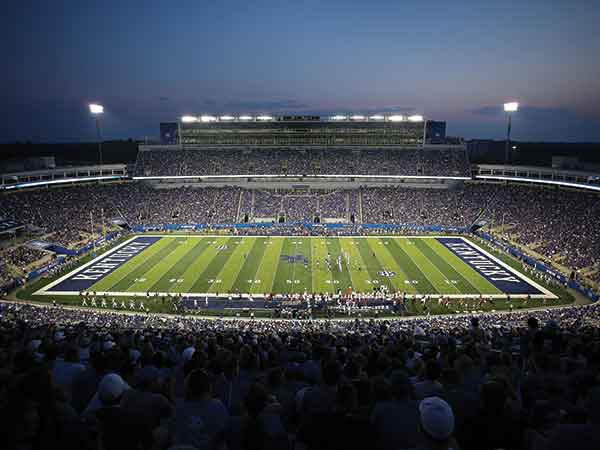 University of Kentucky's Commonwealth Stadium recently underwent a $130 million renovation.