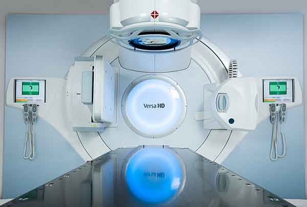 The Versa HD provides increased flexibility to treat a broad spectrum of tumors throughout the body.