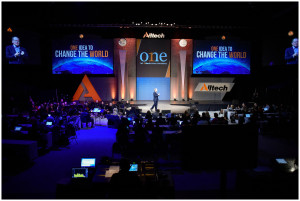 Alltech Founder and President, Dr. Pearse Lyons, speaks at the opening of the Alltech ONE Ideas Conference in Lexington, Kentucky.