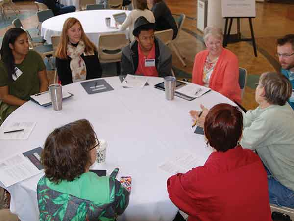 Artists, academics and community leaders collaborated to trade ideas at the Kentucky Arts Council's 2016 Kentucky Creative Industry Summit in Lexington. Cross-sectional collaboration is key to establishing relationships between the arts and other sectors of the community and economy.
