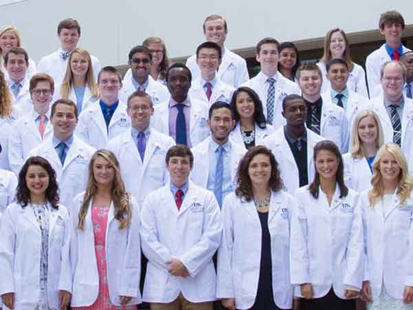 Members of the UK College of Medicine Class of 2020 during their white coat ceremony in August 2016.