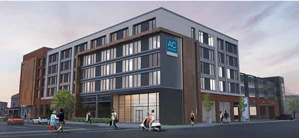 A rendering of the new AC Hotel NuLu.