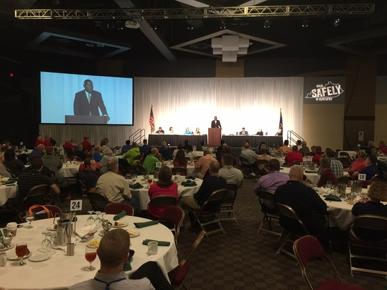 The Labor Cabinet co-hosted the Governor's 33rd annual Safety and Health Conference recently.