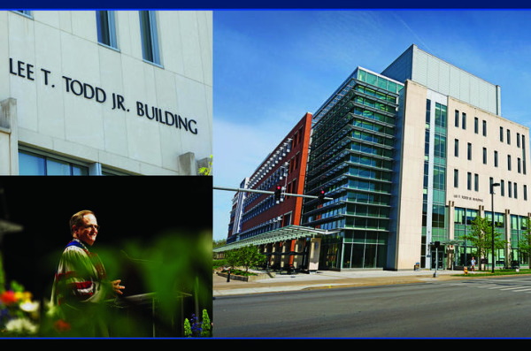 The building that houses the UK College of Pharmacy — known as the Biological-Pharmaceutical Building — is being renamed for Lee T. Todd Jr. (UK Photo | Mark Cornelison)