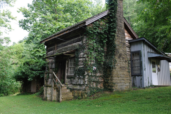 Uncle Sol's Cabin at Hindman Settlement School in Hindman, Ky.