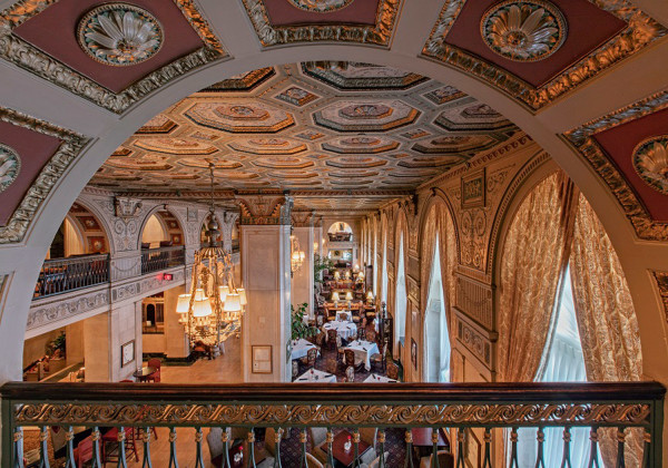 A Louisville legend, the Brown Hotel is beloved by generations of guests for its Georgian-Revival elegance and timeless Southern charm. It recently underwent a $12 million renovation.