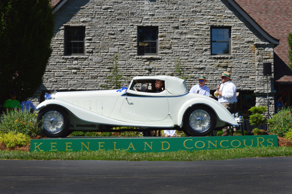 1933 Delage D8S Coupe Roadster