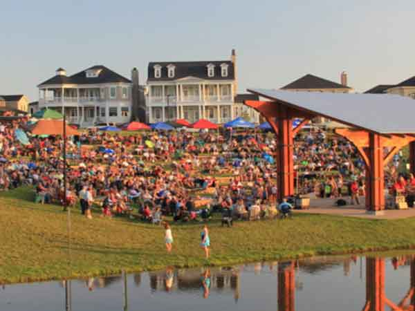 Located in Prospect, Norton Commons Amphitheater is a neighborhood concert and event venue in a mixed-use community.