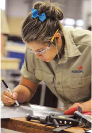 SkillsUSA, a national competition for public high school and college/postsecondary students enrolled in career and technical education programs, was held in Louisville at the end of June. It is considered the largest skill contest in the world.