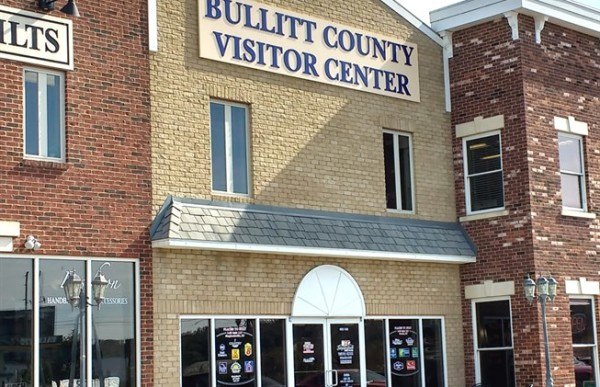 Bullitt County opened a new visitors center last year that now attracts 150 to 200 people per month, up from 12 visitors a month.