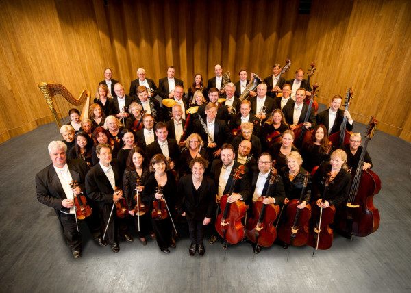 The musicians of the Louisville Orchestra.